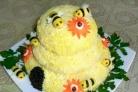 Салат Пчелиный домик