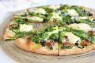 Пицца со спаржей и соусом Песто
