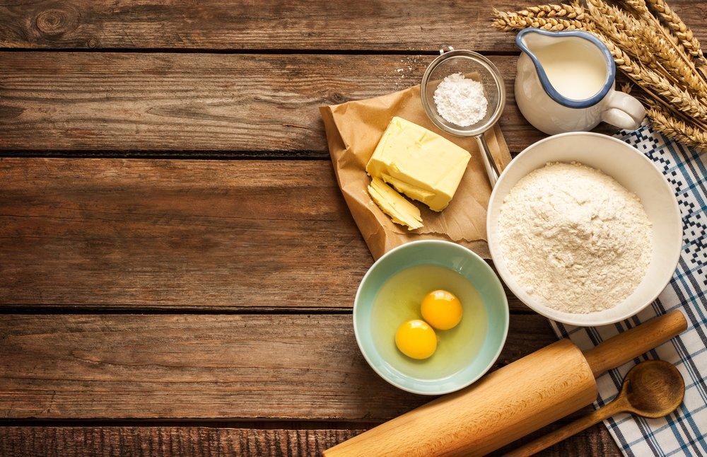 Как отмерить продукты для выпечки