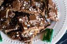 Десерт Ириска с шоколадом