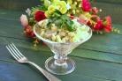 Салат с шампиньонами и сыром