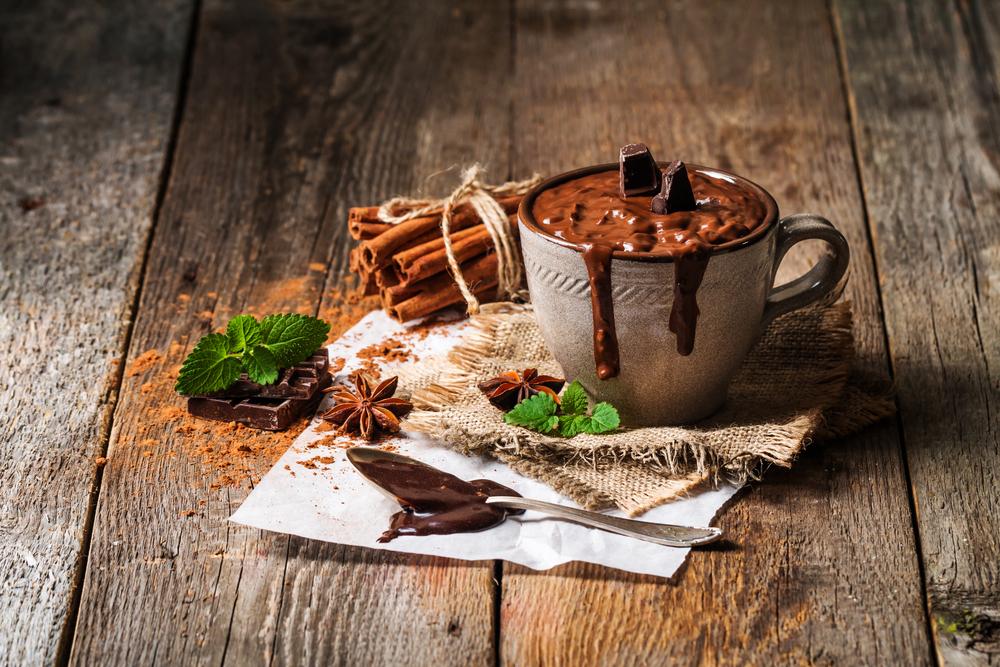 Густой горячий шоколад