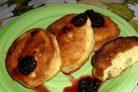 Оладьи (рецепт на кефире)