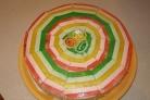 Бисквитный торт с мармеладом