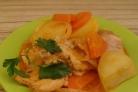 Рагу из кролика с картофелем