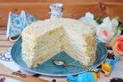 Торт Наполеон со сливочным кремом