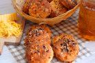 Творожное печенье с сыром