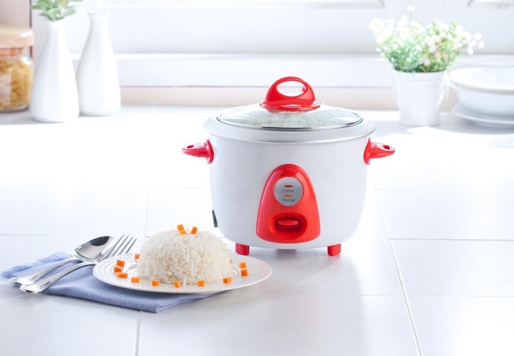 Приготовление риса в рисоварке