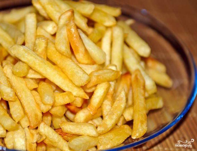 Как порезать картошку соломкой фото