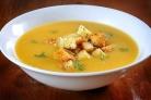 Суп гороховый с сухариками
