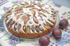 Сливовый чешский пирог
