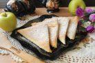 Ленивые пирожки с яблоками