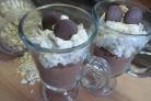 Диетический десерт из овсяных хлопьев