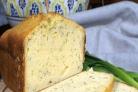 Сырный кекс с укропом