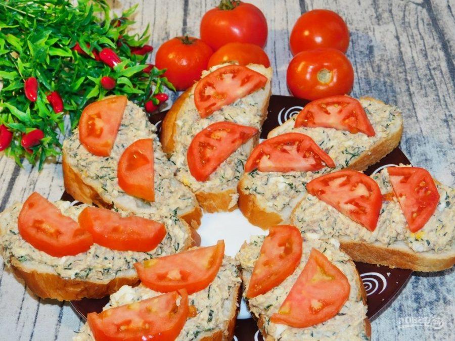 Салат-намазка с тунцом для бутербродов