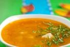Суп из томатной консервы