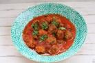 Рыбные фрикадельки в томатном соусе