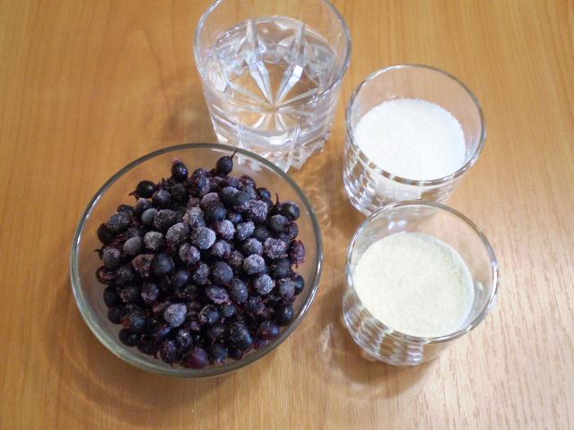 Смородиновый десерт