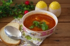Томатный суп с сельдереем