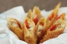 Сырные палочки с курицей