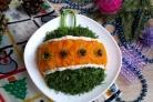 Праздничный салат Новогодний шар