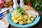 Курица с овощами Быстрая