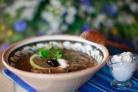 Грибная солянка с капустой