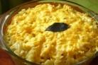 Макароны с фаршем в сырном соусе