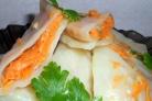 Голубцы с морковкой