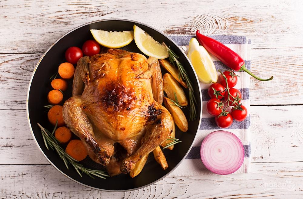 Как вкусно запечь курицу
