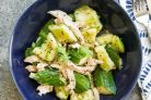 Салат из курицы с огурцами по-китайски