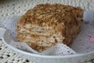 Торт Наполеон на скорую руку