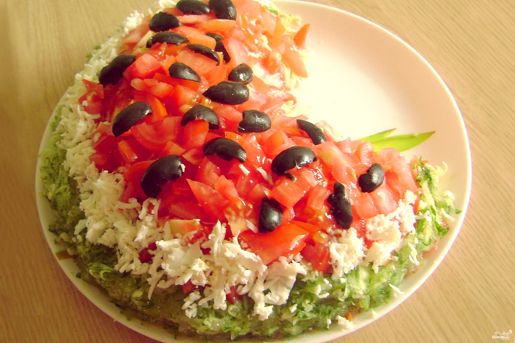 Для сайта Аура позитива: салатик