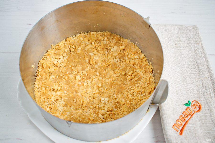Основа для чизкейка из печенья с маслом