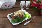 Куриное мясо в духовке