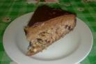 Торт с черносливом и грецким орехом