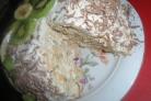 Торт из крекеров без выпечки