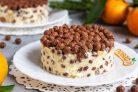 Хрустящий торт без выпечки