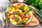 Салат с тунцом и грейпфрутом