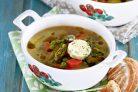 Суп овощной вегетарианский