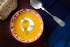 Морковный суп-пюре с фенхелем