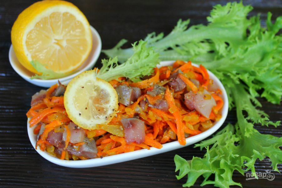Литовский салат