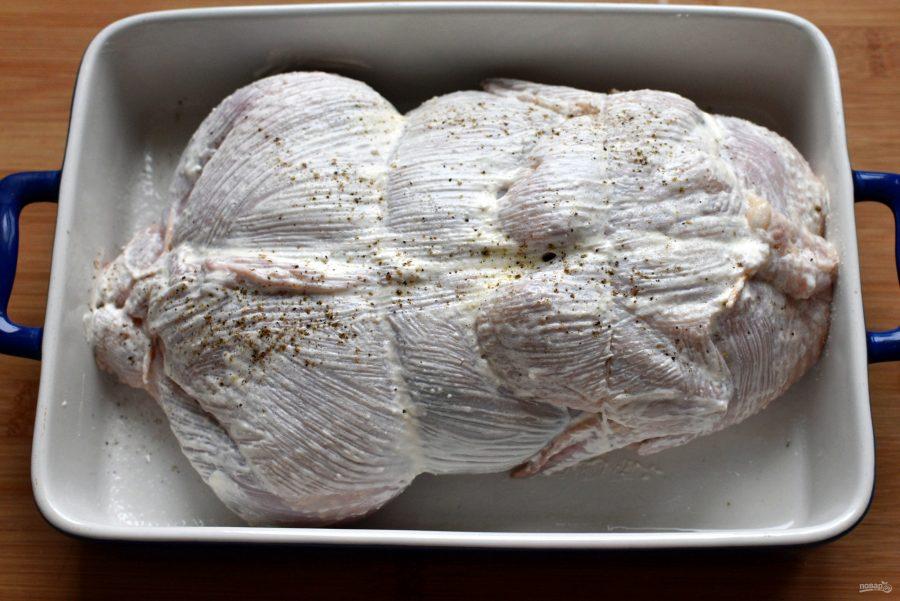 Классический галантин из курицы