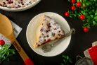 Пирог с клюквой на кефире