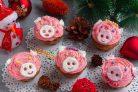 Лимонные кексики Розовые свинки