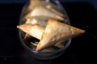 Пирожки с грибами и голубым сыром