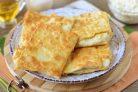 Пирожки из лаваша с творогом