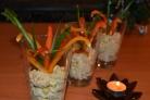 Салат Новогодний фейерверк