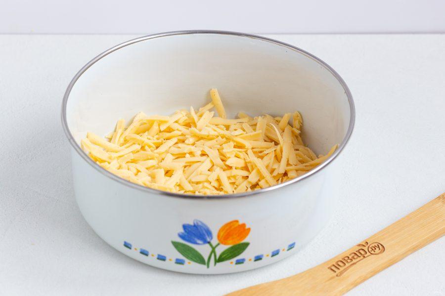 Сырная закуска в тарталетках