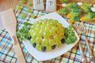 Салат Изумрудный с виноградом